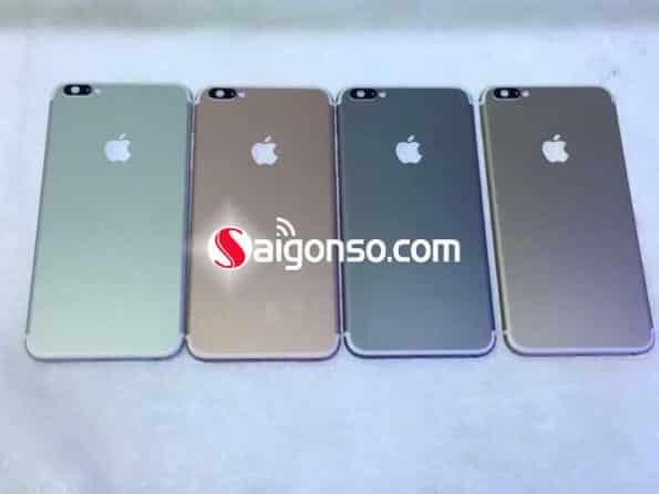 Độ vỏ iPhone 6 Plus lên iPhone 7 Plus