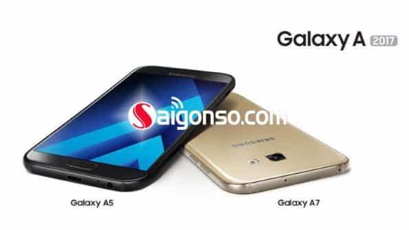 Thay màn hình , mặt kính Samsung A5/A7(2017)