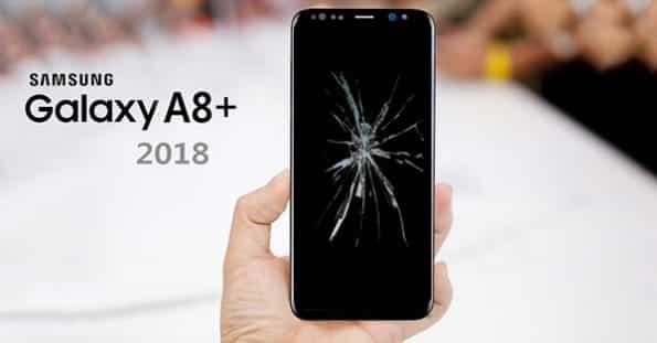 Thay mặt kính Samsung A8 Plus 2018